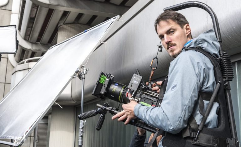DoP Christoph Iwanow an der RED Weapon
